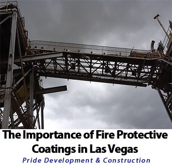 Importance of Fire Protective Coating in Las Vegas, NV